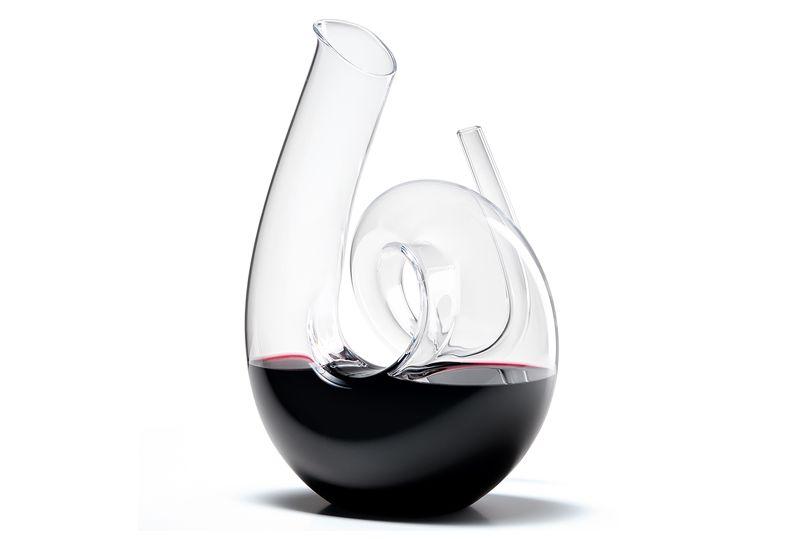 Decanter - Curly clear