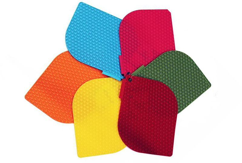 Honeycomb - Presina in silicone Gialla