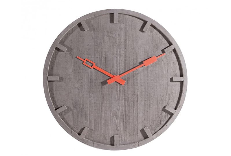Wall Clock cm. 55 in cemento